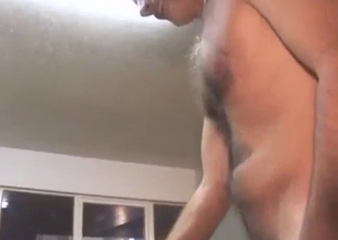 Watch me sucking my daddy dick on the table