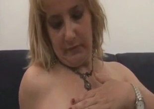 Awesome big bottomed mom gets incested